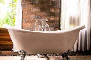 A claw-footed bathtub.